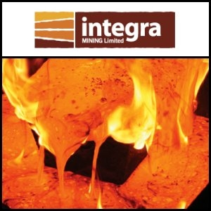Asian Activities Report for June 10, 2011: Integra Mining Limited (ASX:IGR) Record Gold Production Of 7,909 Ounces In May