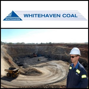 Asian Activities Report for August 23, 2011: Whitehaven Coal (ASX:WHC) Increased Total Coal Resources by 21.5 Million Tonnes