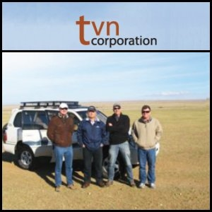Asian Activities Report for August 24, 2011: TVN Corporation (ASX:TVN) Drilling Update at the Nuurst Coal Project in Mongolia