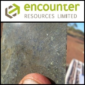 Asian Activities Report for September 8, 2011: Encounter Resources (ASX:ENR) Announce Significant Recent Advances at the Yeneena Copper Project