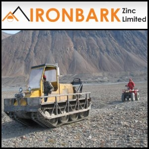 Asian Activities Report for October 14, 2011: Ironbark Zinc Limited (ASX:IBG) Executes US$50 Million Funding Facility To Fund Acquisition Strategy