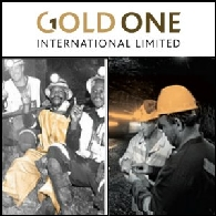 Gold One International Limited (ASX:GDO)