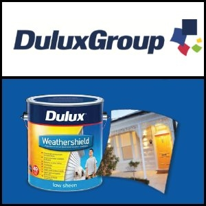 Asian Activities Report for November 2, 2011: DuluxGroup (ASX:DLX) to Merge Business with Camelpaint for Future Expansion in China