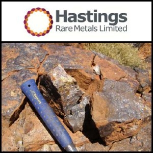 Asian Activities Report for November 11, 2011: Hastings Rare Metals Limited (ASX:HAS) Announces Significant Rare Earth Results at Yangibana Project