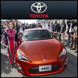 Asian Activities Report for November 28, 2011: Toyota Motor Corporation (TYO:7203) Unveils Newest Sports Car