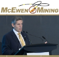 Gold Miner, McEwen Mining (TSE:MUX) (NYSE:MUX)