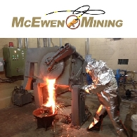 McEwen Mining Inc (TSE:MUX) (NYSE:MUX) Reports Q2 Production Results, Cash and Bullion Increase to $57 Million