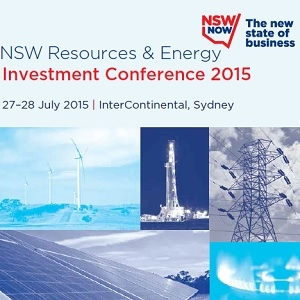 NSW Resources & Energy Investment Conference 27 & 28 July 2015 - Sydney