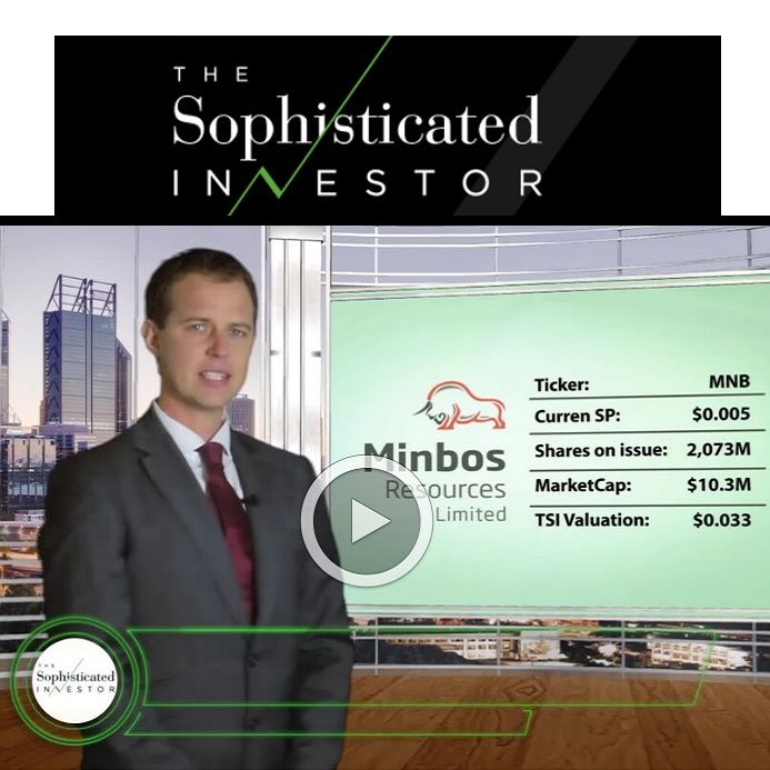 FINANCE VIDEO: Minbos Resources High Grade Cacata Phosphate Project Takes Shape
