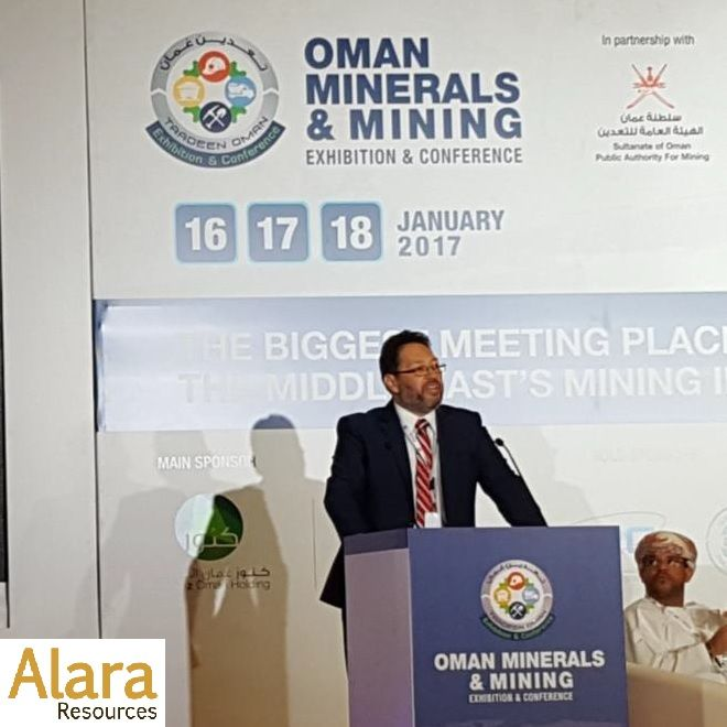 Delivers Key Presentation on Oman Activities and Al Hadeetha Copper Gold Project