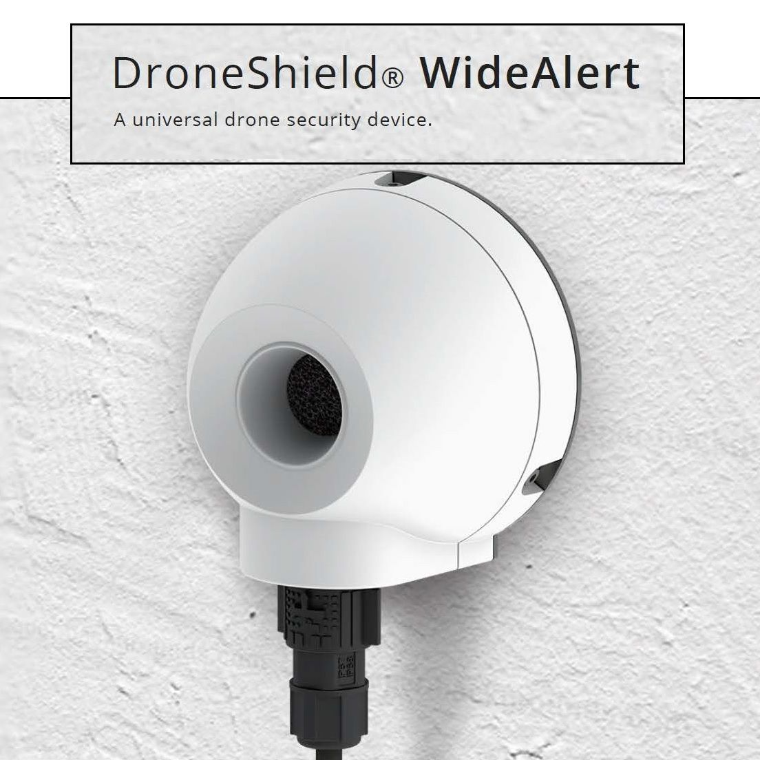 Market Update and Launch of Acoustic Drone Detection Product WideAlert