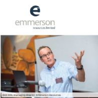 Emmerson Resources Limited (ASX:ERM) Exploration Update Presentation