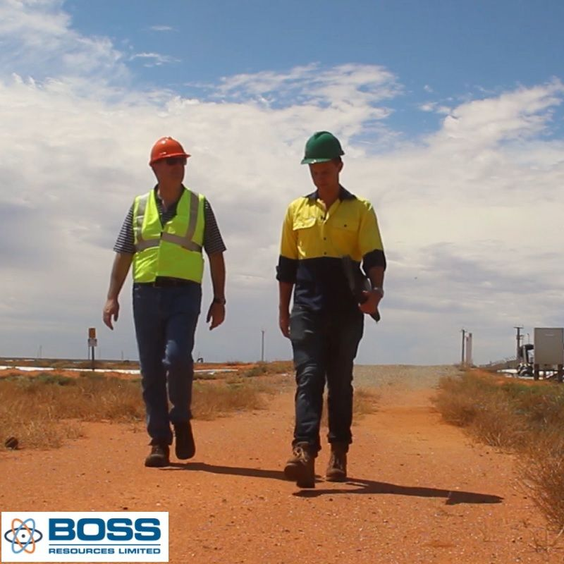 Boss Resources Positive PFS for Honeymoon Uranium Project