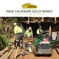 New Talisman Gold Mines Limited (ASX:NTL) Talisman Advances Underground