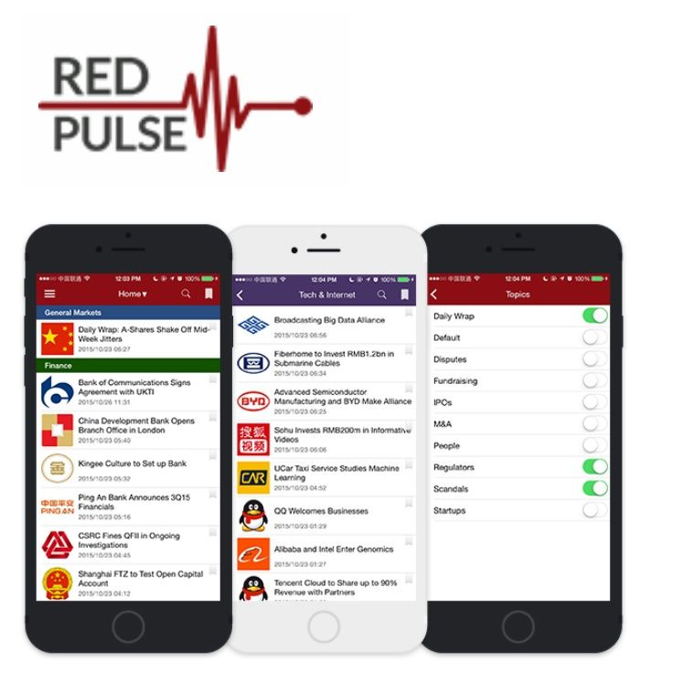 Lists Red Pulse (CRYPTO:RPX)