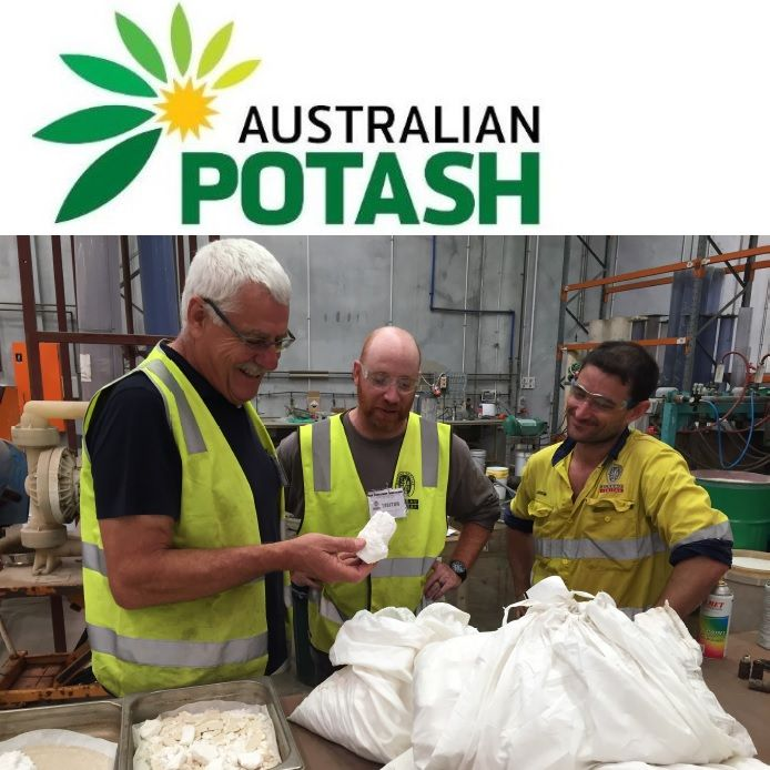 Australia's First Field Evaporated Sulphate of Potash