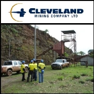 Cleveland Mining (ASX:CDG)