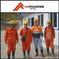 Доклад o деятельности в Азиатском регионе за 29 сентября 2011 года: Ред Маунтин Майнинг (Red Mountain Mining) (ASX:RMX) продолжит разработку зоны значительной золотой минерализации в рамках проекта Zhongqu Project Stage II Drilling в Китае.