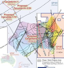 PROPOSED CARPENTARIA-1 WELL LOCATION