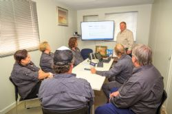 Training of Alice Springs based personnel.
