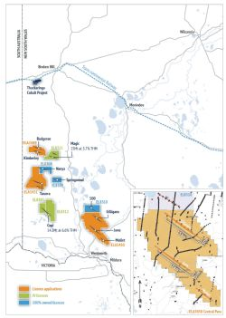 BPL's extensive HMS tenement portfolio within the world-class Murray Basin, western New South Wales