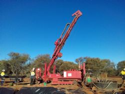 Diamond Core Drilling commenced at CWRC005