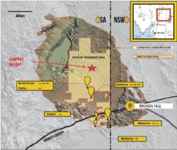 MT electrical conductive zone associated with the Olympic Dam deposit
