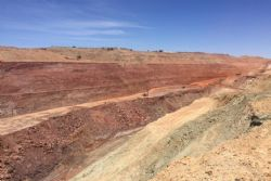 Currently mining 1km of strike of ore up to 40m wide