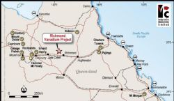 Richmond vanadium project joint venture in Queensland
