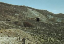 Historical image of the Gilberts Mine, Pershing County, Nevada