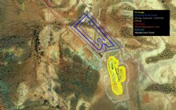 Goongarrie Lady Gold project site layout