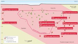 Grants Lithium Deposit and new extension drill intersections