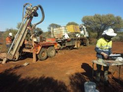 AC drilling on the Primrose Project, WA.