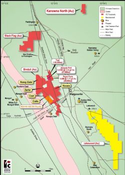 Teal gold project location, regional geology and surrounding infrastructure