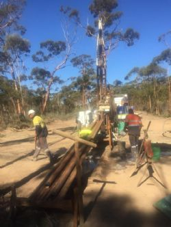 Diamond Drilling at Lady Magdalene