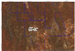 E 29/1016 new exploration area 5 kilometres SSE of Boags pit Bottle Creek