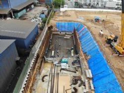 OSD Tank Excavation and Construction Preparation