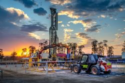 Drilling the Range #2 coal seam gas exploration well