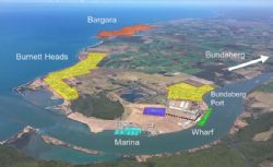 Location of the land being assessed at the Port of Bundaberg