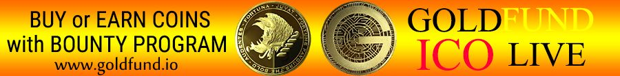 Goldfund.io ICO Launch