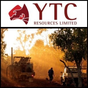 2010年9月24日澳洲股市:YTC Resources Limited (ASX:YTC)在Nymagee铜矿钻遇高品位铜