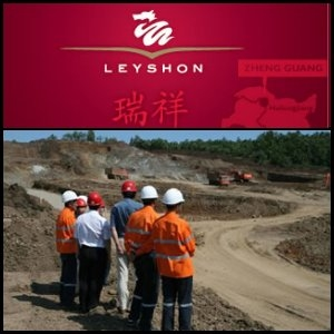 2010年10月5日澳洲股市:Leyshon Resources Limited (ASX:LRL)瞄准蒙古西南焦煤资产