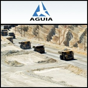 2011年4月4日澳洲股市:Aguia Resources Limited (ASX:AGR) 的巴西Lucena磷矿项目开始钻探