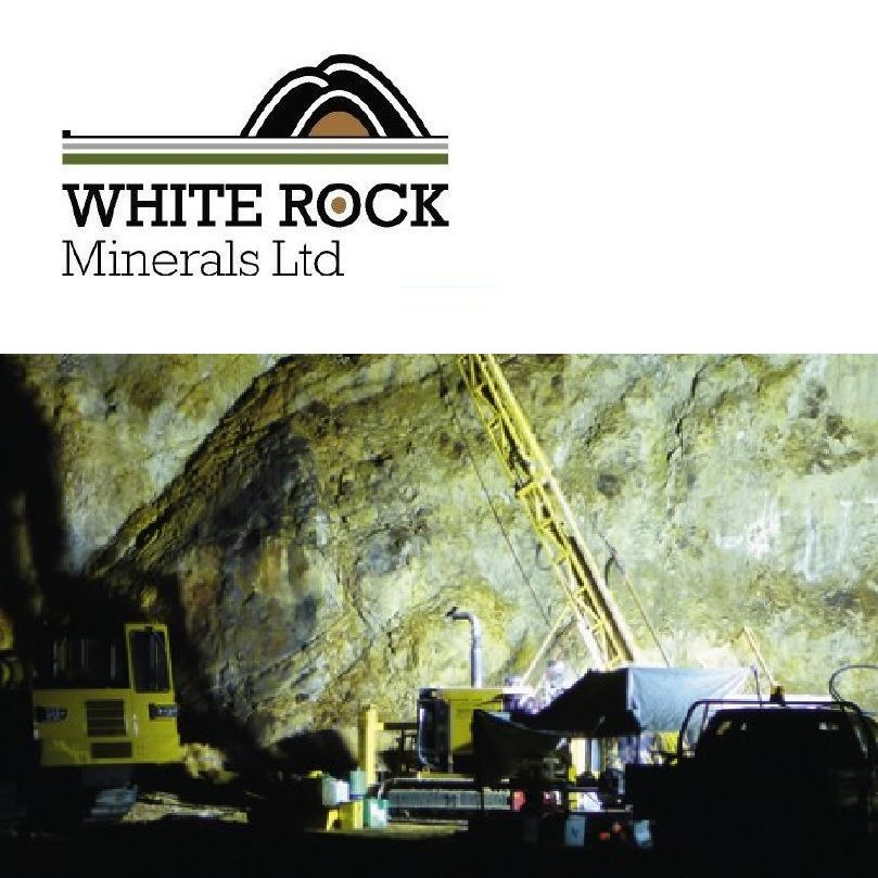 White Rock Minerals - 配股