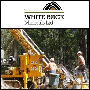 2011年9月12日亞洲活動報告:White Rock Minerals Limited (ASX:WRM) 更新Mt Carrington 銀-金項目勘探進展
