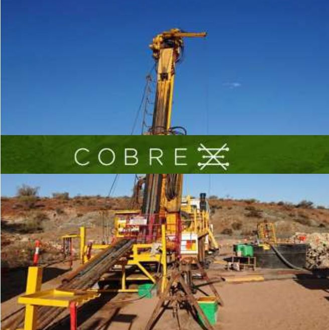 Cobre confirms volcanogenic massive Cu-Au-Zn sulphides