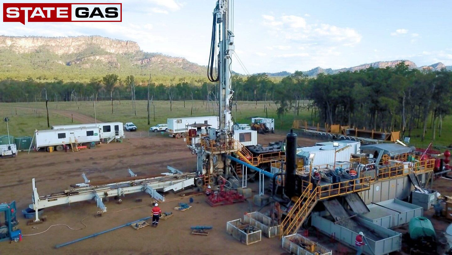 Drilling Rig mobilisation to Reids Dome Gas Project