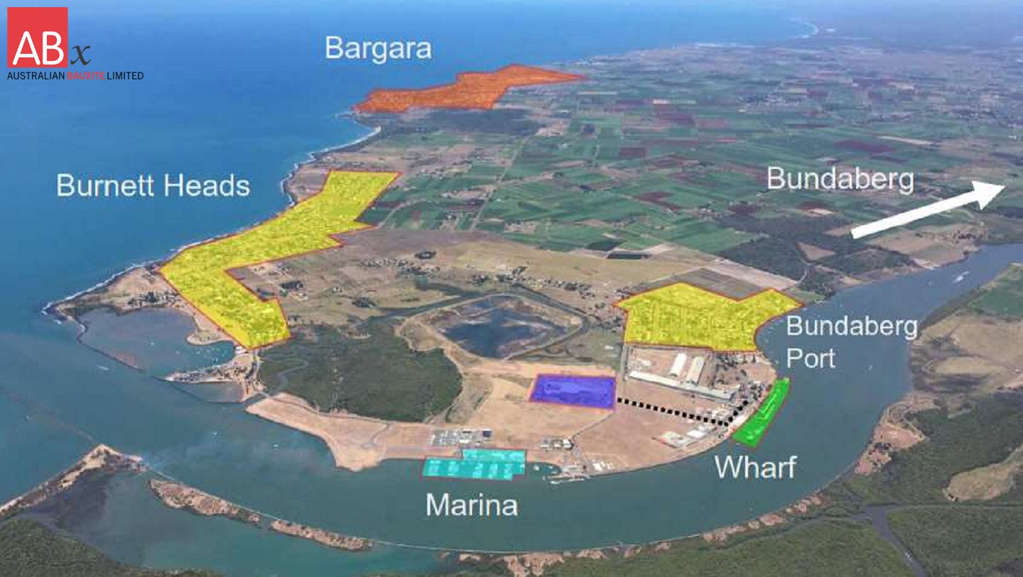 Mining Lease Application QLD fully-funded Bauxite Project