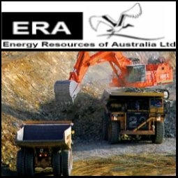 Energy Resources of Australia Ltd (ASX:ERA) reported net profit after tax and underlying earnings for the half year ended 30 June 2009 was a record A$127.6 million compared with a net profit after tax of A$38.9 million for the same period in 2008. ERA said its full year production is expected to be in line with normal levels, consistent with the guidance provided in January 2009.