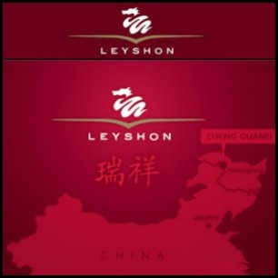 Leyshon Resources Limited (ASX:LRL) and its joint venture partner have entered into a conditional agreement to sell their respective interests in the Black Dragon Mining Company, which owns the Zheng Guang Project, to Heilongjiang Heilong Mining Company. Heilong will pay RMB230 million for 70% interest in Leyshon's wholly own subsidiary China Metals Pty Limited.